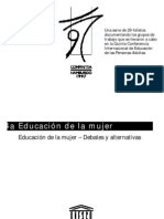 MUJER Y EDUCACION