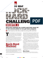Bodybuilding - The Rock Hard Challenge (Month 2 Training)(1)