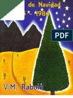 MENSAJE DE NAVIDAD 1985 – 1986 VM RABOLÚ