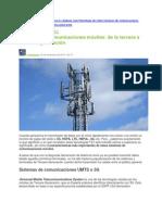 Francisco Rodriguez - Sistemas de Comunicaciones Móviles- De la Tercera a la Cuarta Generación