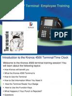 Kronos 4500 Training