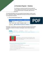 Checklist Farmacia Popular