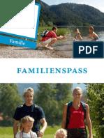 Chiemgau Familienbroschüre