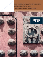 HAKALAHTI, I.K. • Maestro Francisco Correa de Arauxo's (1584-1654) Facultad orgánica (1626) as a source of performance pratice (2008)