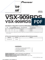 Pioneer-VSX909RDS Service Manual
