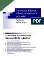 Conceptos Basicos de Mantenimiento Industrial