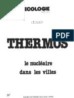 Thermos Le Nucleaire en Ville (1978)