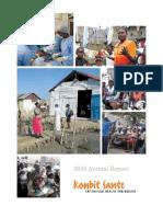 Konbit Sante Annual Report 2010