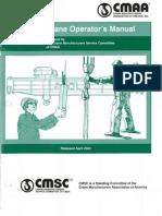 Crane Operators Manual