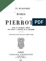 Mimes Et Pierrots