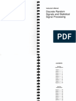 Discrete Random Signals and Statistical Signal Processing Sol Manual-Charles W. Therrien