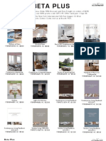 Beta Plus Books on Interior Design