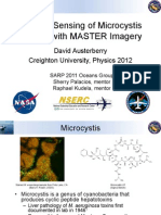 Remote Sensing of Microcystis Blooms in MASTER Imagery