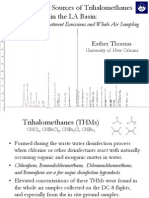 Identifying Trihalomethanes in the LA Basin