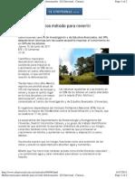 Hallan mexicanos método para revertir deforestación