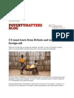 8-1-11 Guardian Column - Foreign Aid