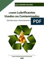 Óleos lubrificantes usados ou contaminados segundo CONAMA 362_05