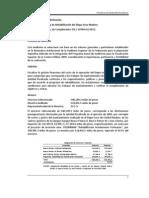 2009 Costo de Operación y de Rehabilitación del Dique Seco Madero