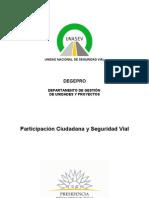 Participacion Ciudadana y Seguridad Vial
