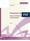 The Ontario Curriculum Grades 9 - 12 | Financial Literacy, Scope and Sequence of Expectations