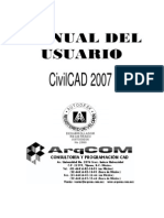 Manual CivilCAD 2007