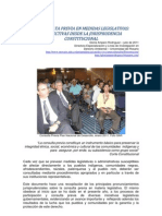 La Consulta Previa en Medidas Legislativas PDF