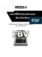 FBV Control Application Basic User Guide (Rev B) - English