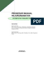 Manual Kejururawatan Intervensi Terapeutik