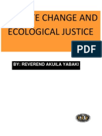 Climate Change Ecological Justice Tonga Paper 26th July 2011