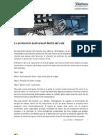 La Produccion Audiovisual Dentro Del Aula I[1]