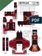 Arcturus Nova Transforming Paper Toy