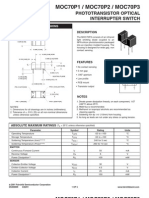 Datasheet Chave