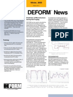 Deform Tm News