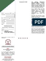 CELDA Brochure - Regist Form