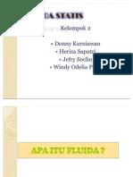 FLUIDA STATIS-KELOMPOK 2