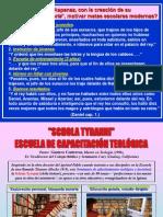 Schola Tyranni - Escuela de Capacitacion Teologica