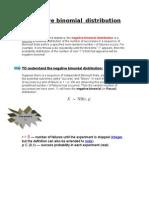 Negative Binomial Distribution
