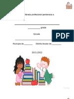 Libreta Profesional -Para Maestros