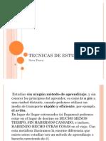 TECNICAS DE ESTUDIOS