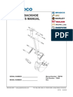 485 Backhoe Operator and Parts Manual