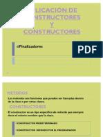 Aplicacion de Construct Ores y Destruct Ores