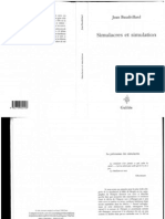Baudrillard Jean - Simulacres Et Simulations