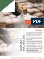 'Políticas de drogas y situación carcelaria en Colombia'-Rodrigo Uprimny y Diana Guzmán