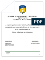 Saanya- Summer Project