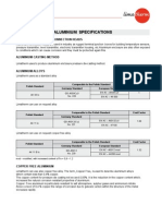 Aluminium Specification