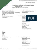 Docket Report Delarosa v Boiron