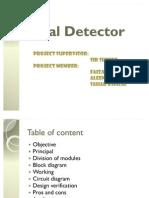 Metal Detector Presentation 1