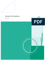 Orrick Materials Business Plan Guidelines for Founders Space May 2011