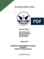 Askep CA Paru & Diagnosa Keperawatan pre-post ops