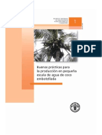 FAO Manual Buenas Practicas Agua de Coco